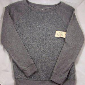 St. John's Bay Heather Grey Sweatshirt